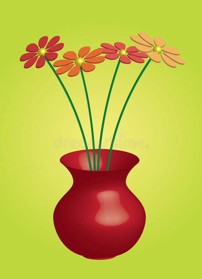 Free Vase With Flowers Royalty Free Stock Images - 13606789