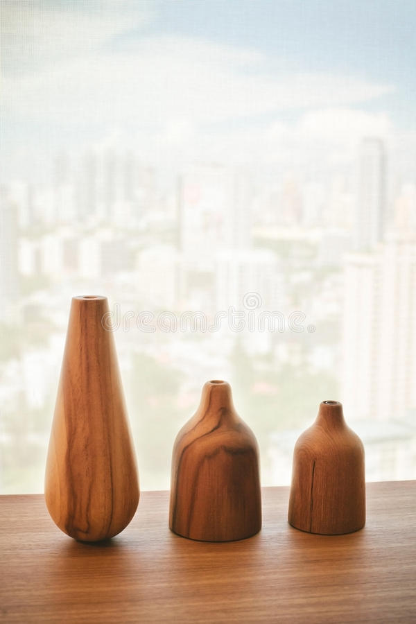 Download Vase Wood On Table Decorate Design Stock Photo - Image: 38825500