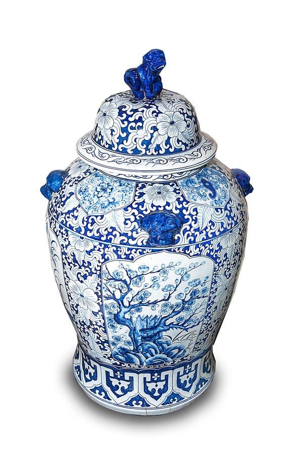Vases en céramique chinois image stock