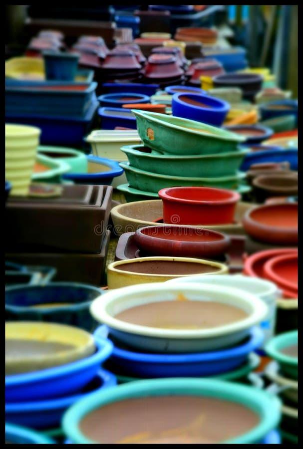 Vasi di Japaneese fotografia stock