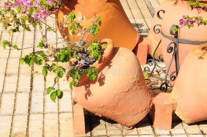 Vasi di terracotta immagini stock