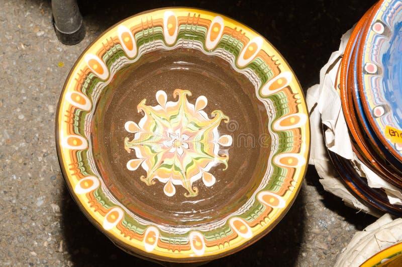 Vasi tradizionali fatti a mano immagine stock