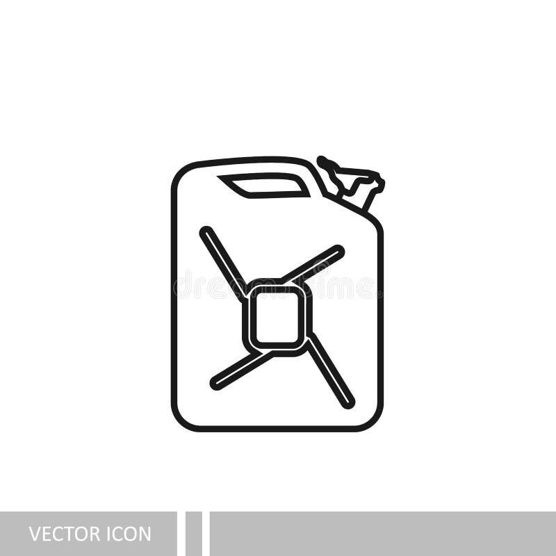 vasilha Ícone ao estilo do projeto linear ilustração royalty free