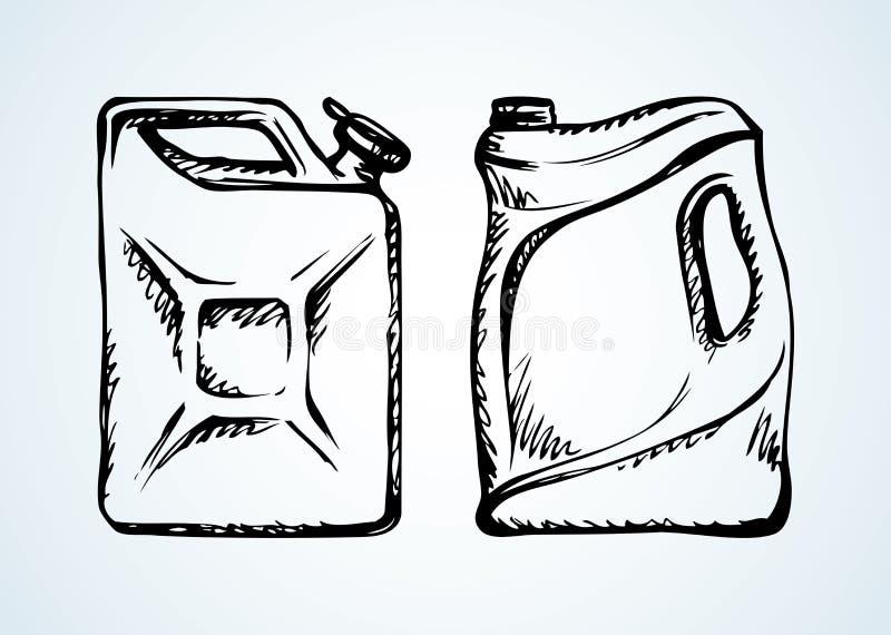 vasilha Desenho do vetor ilustração royalty free