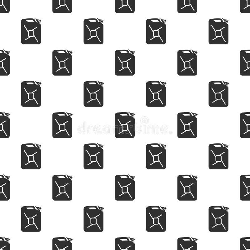 vasilha Teste padrão sem emenda do vetor com lata ilustração do vetor