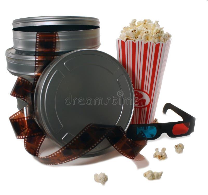 Vasilhas da película imagem de stock