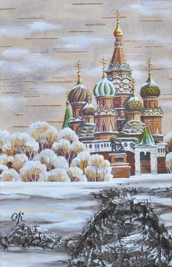 Vasily Blazhennogo Temple Royalty Free Stock Photography