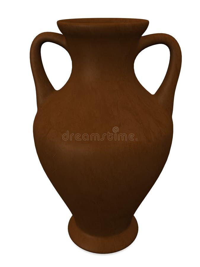 Download Vaso ilustração stock. Ilustração de bacia, figura, decorativo - 12806057