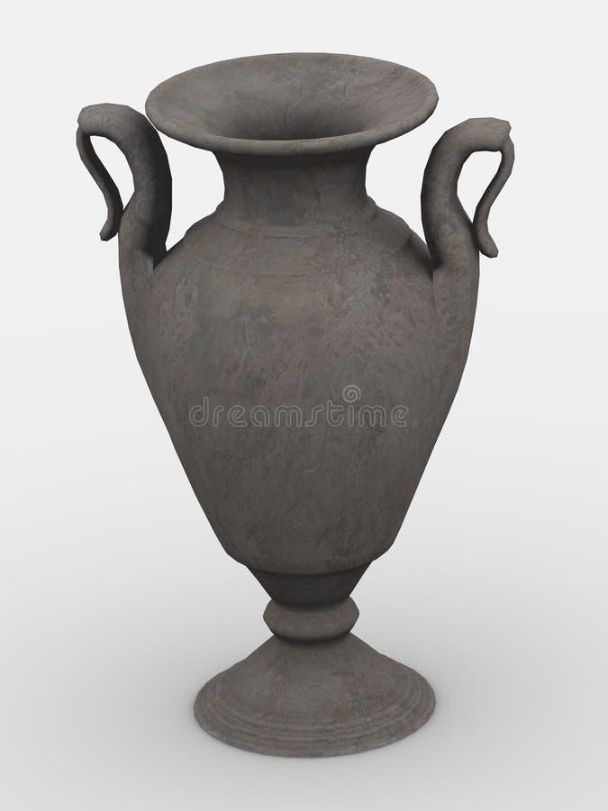 Download Vaso ilustração stock. Ilustração de decorativo, renda - 12806078