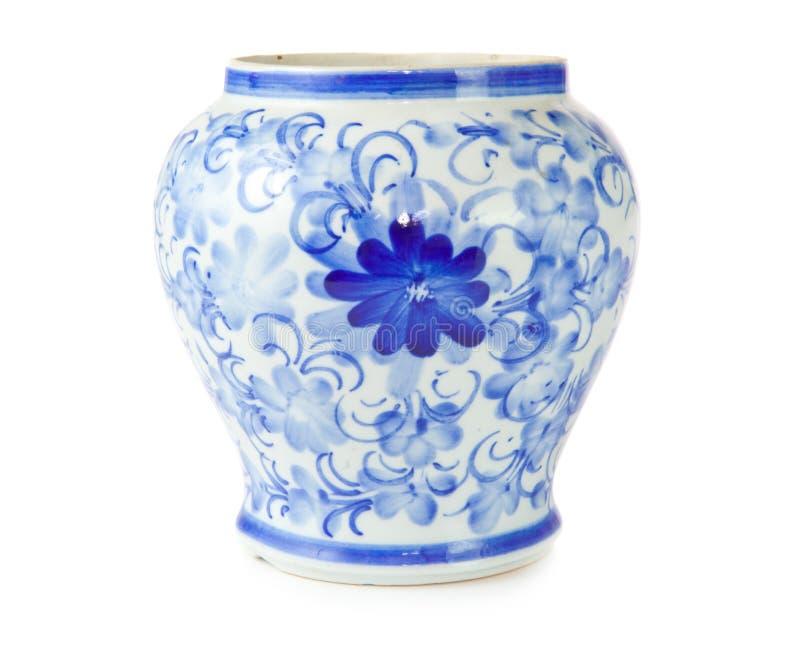 Vaso antico cinese fotografia stock