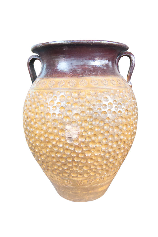 Download Vaso antico isolato fotografia stock. Immagine di thailand - 30829212