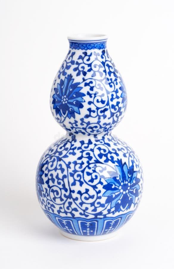 Vaso asiático japonês chinês cerâmico fotografia de stock royalty free
