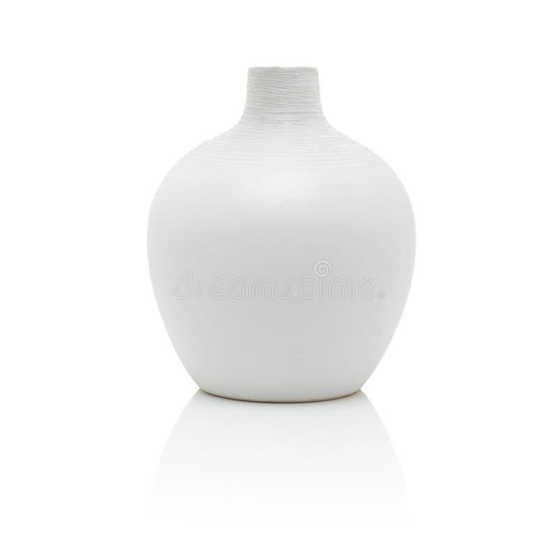 Vaso branco foto de stock