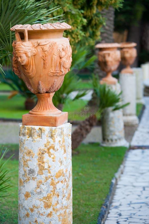 Vaso da terracota imagem de stock royalty free