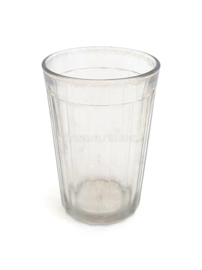 Vaso de cristal grueso foto de archivo