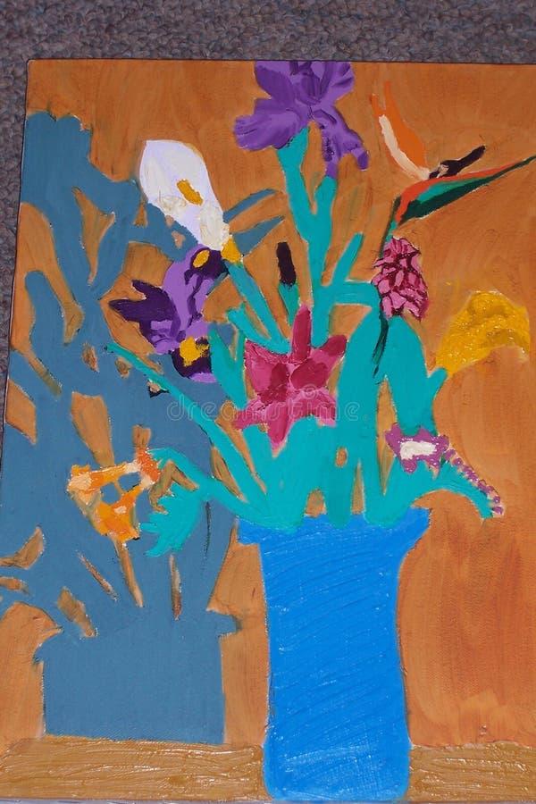 Vaso de flor ilustração do vetor