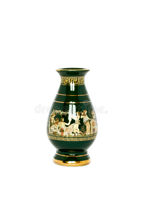 Vaso del greco antico fotografie stock