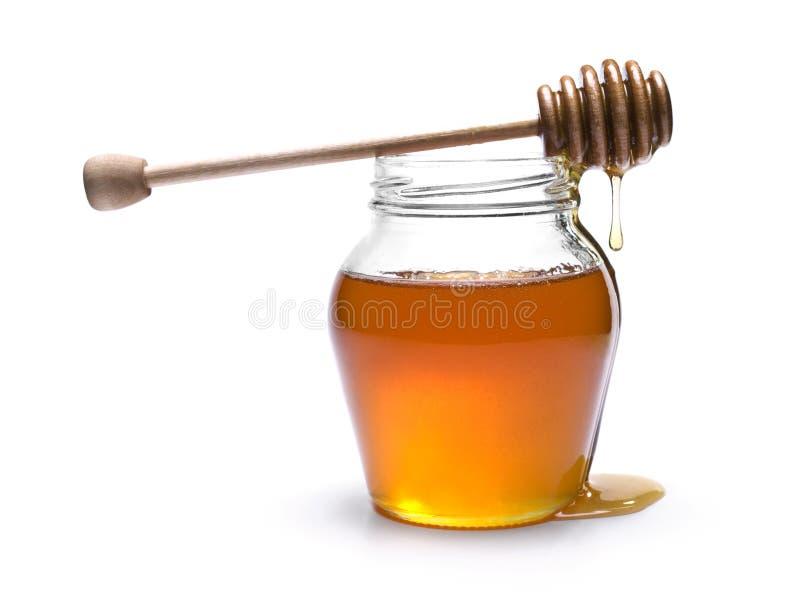 Vaso del miele immagini stock