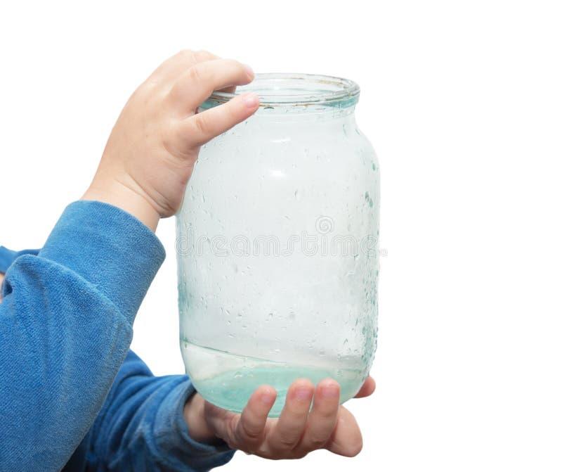 Vaso di acqua immagine stock