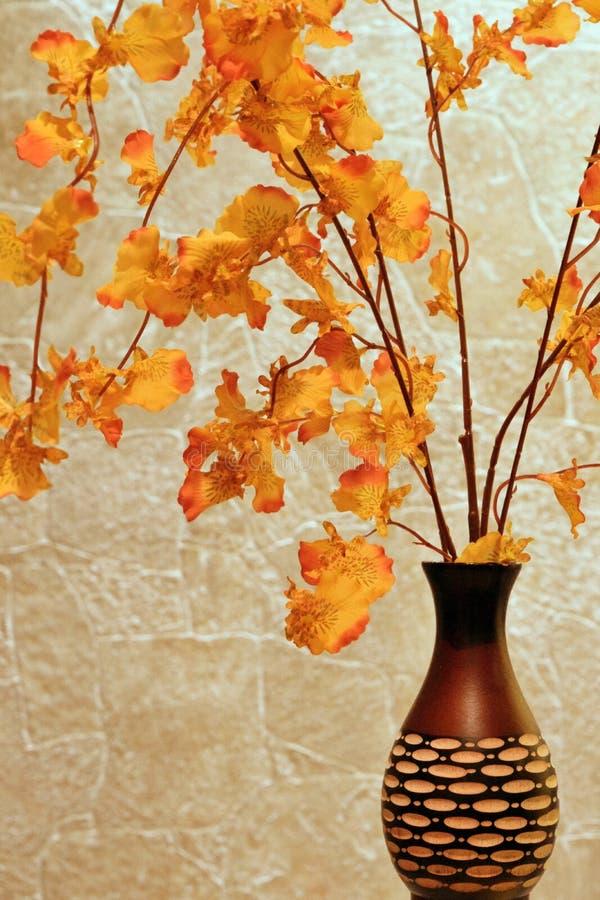 Vaso di autunno immagine stock libera da diritti