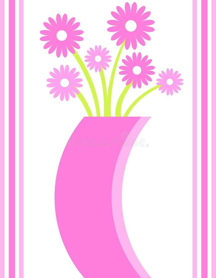 Vaso di fiore illustrazione vettoriale