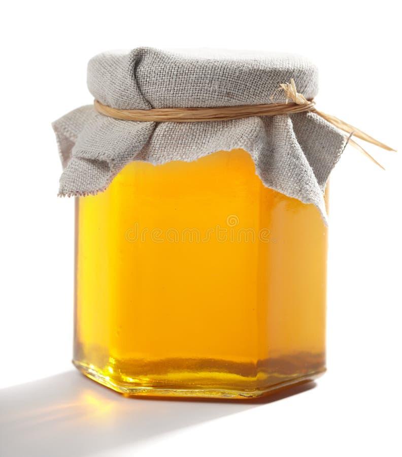 Vaso di miele immagini stock