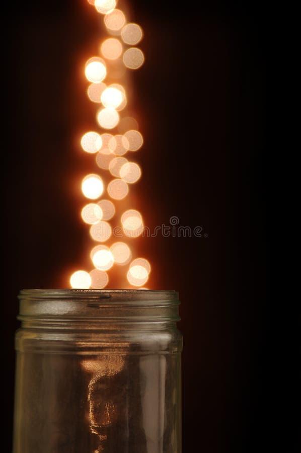 Vaso di vetro magico immagini stock libere da diritti