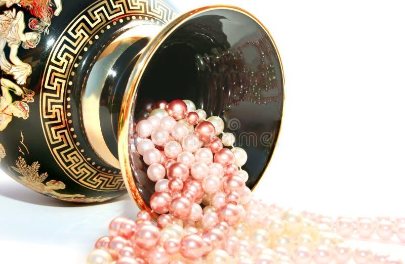 Vaso greco fotografie stock
