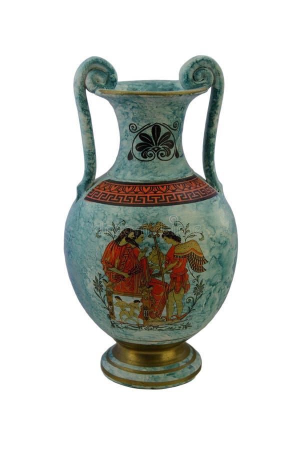 Vaso grego foto de stock
