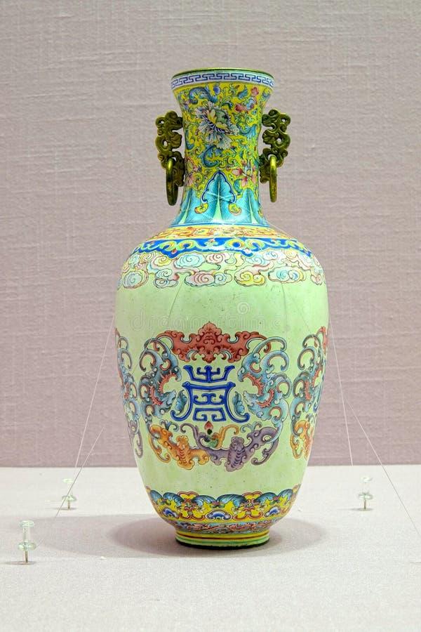 Vaso imperial da porcelana fotos de stock