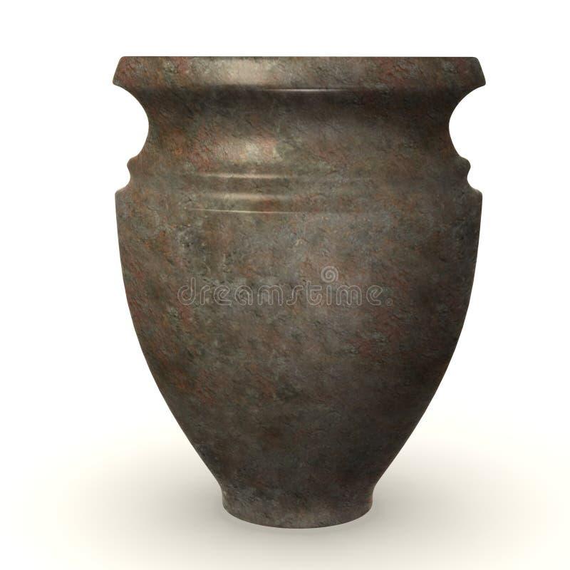 Vaso pré-histórico ilustração do vetor
