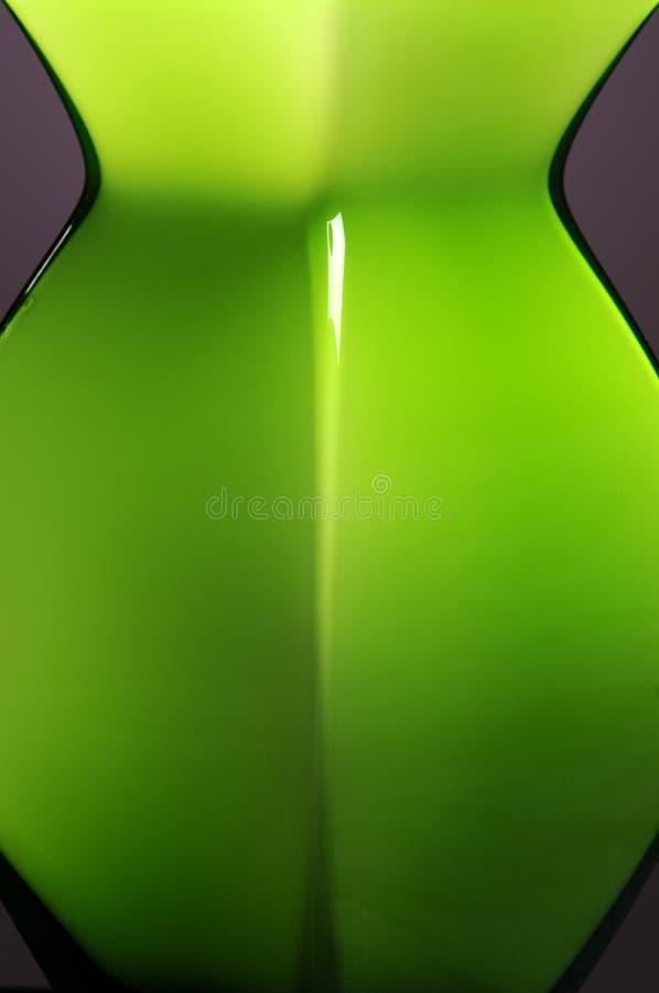 Vaso verde fotografia de stock