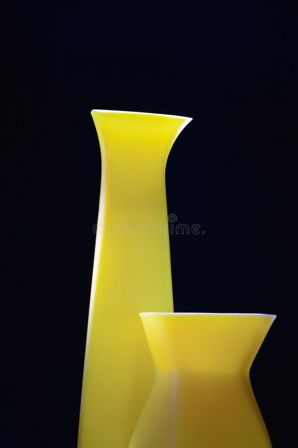 Vasos modernos imagens de stock