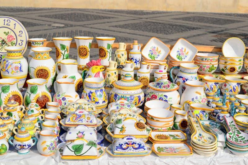 Vasos tradicionais fotografia de stock royalty free