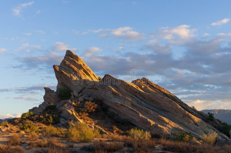Vasquez oscilla il parco naturale di area nella California fotografia stock libera da diritti