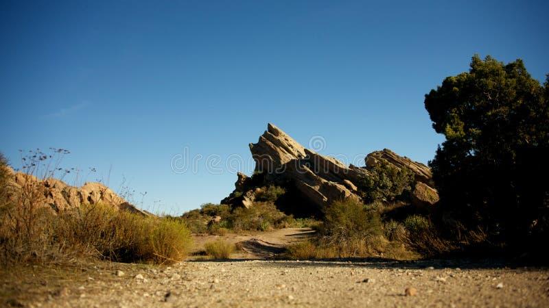 Vasquez Rocks royalty free stock photos