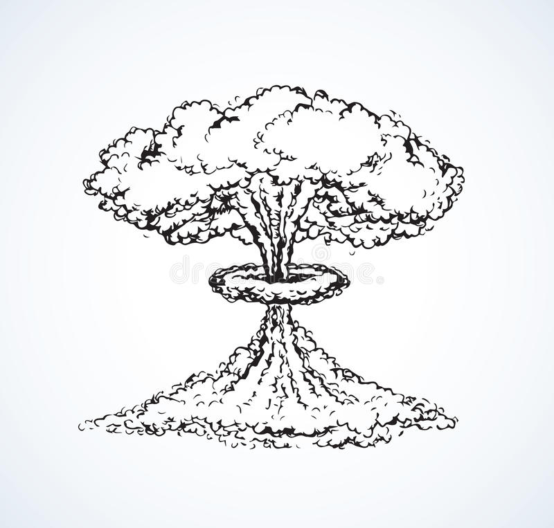 vassoura Desenho do vetor ilustração royalty free