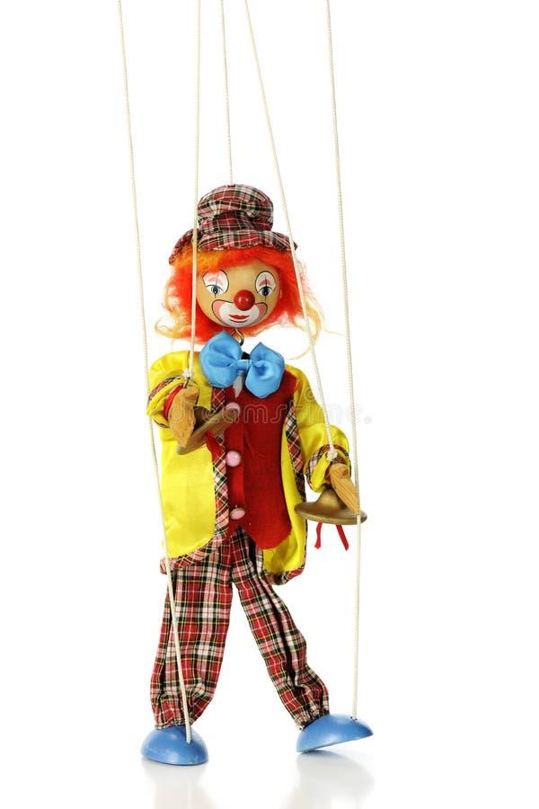Vast:binden-uit Clown stock fotografie
