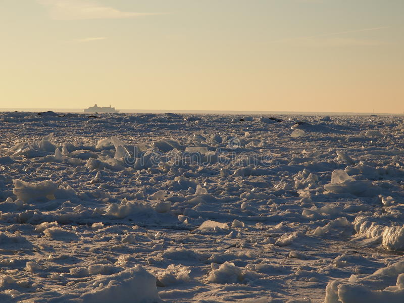 Download Vast fields of sea ice stock image. Image of nature, endless - 18970431