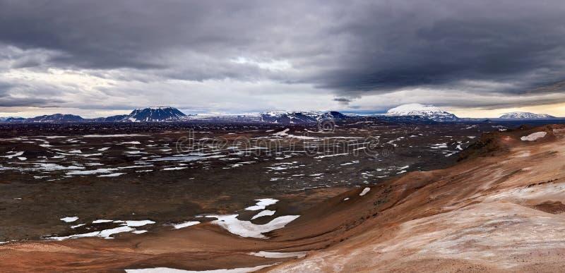 Vaste paysage de l'Islande photos stock