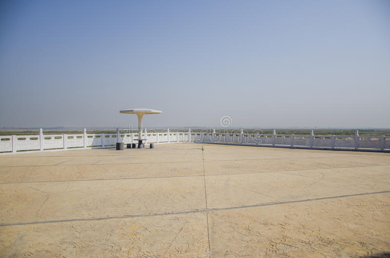 Vaste plaine de Henan photo stock