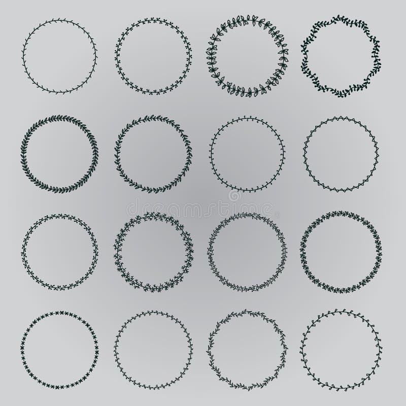 Vastgestelde kronen stock illustratie