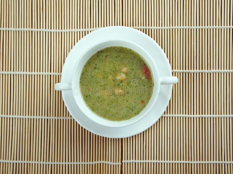 Vasto Bean And Bacon Soup immagini stock libere da diritti