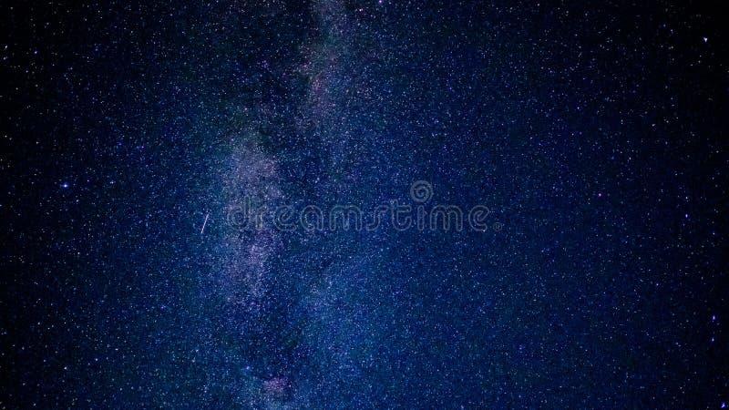 Vasto cielo stellato fotografia stock