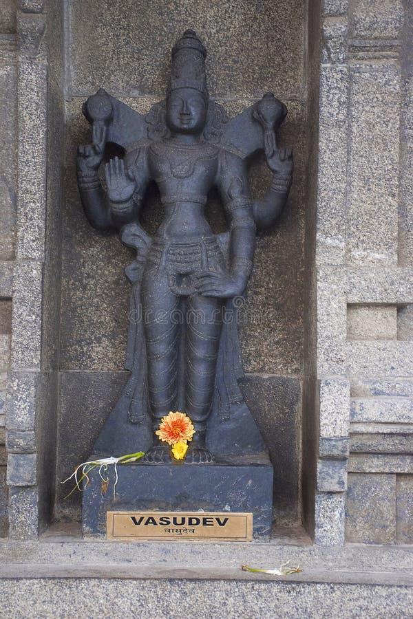 Vasudevdeity ISKCON NVCC Tempel, katraj-Kondhwa royalty-vrije stock afbeelding