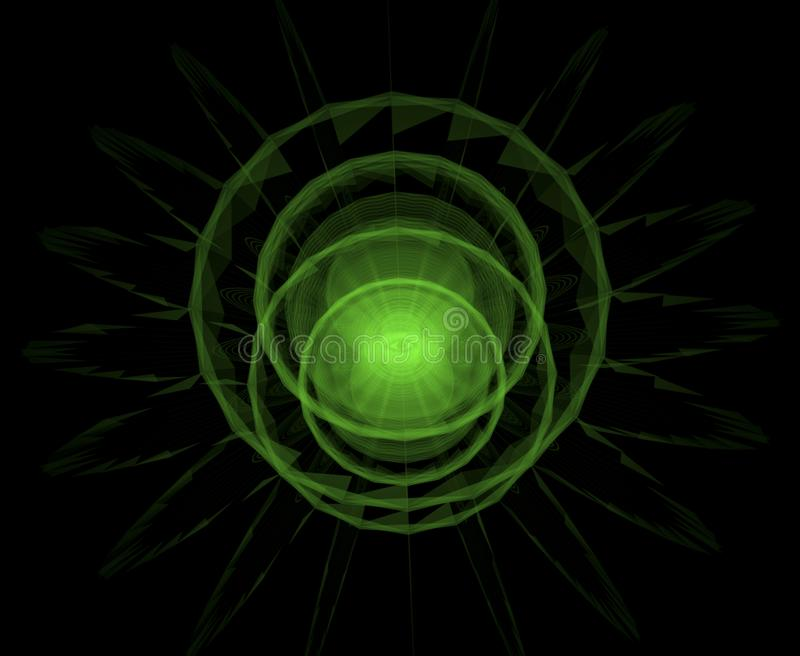 Vat allen samen die oog voor astrologie zien, geheim en stammen, esoter vector illustratie