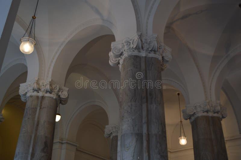 Vat Gewelfd Plafond in Royal Palace royalty-vrije stock foto's