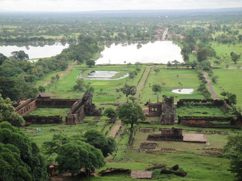 Vat Phu arkivfoton