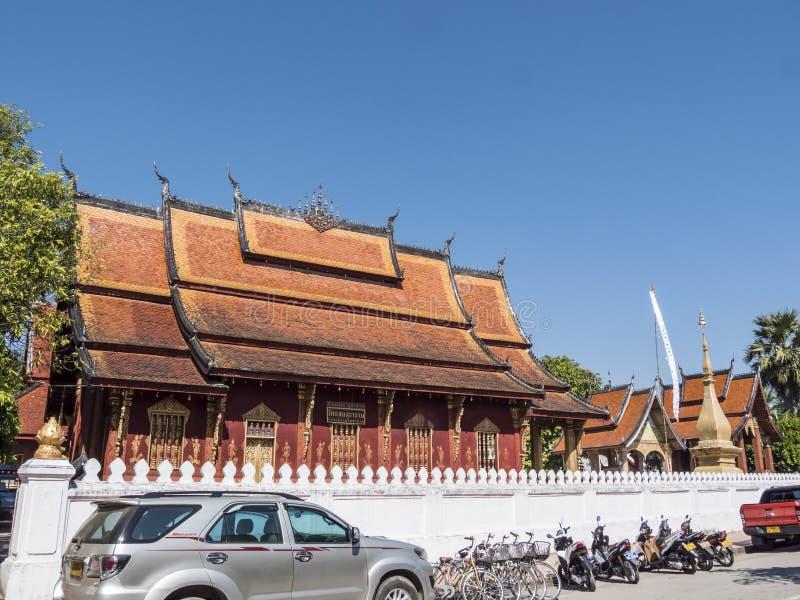 Vat Sensoukharam, Luang Prabang stock photo