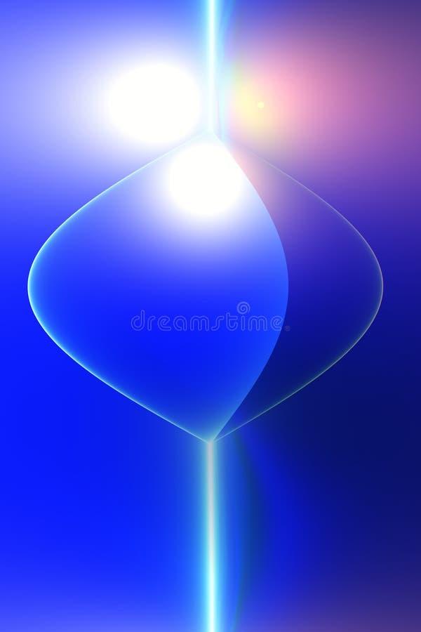 Vat sinewave samen vector illustratie
